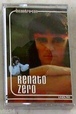 RENATO ZERO - INCONTRO CON - Musicassetta Sigillata MC K7