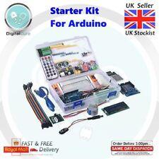 Starter Kit for Arduino + UNO R3 LCD1602 Ultrasonic LEDs Servo Sensors +Tutorial