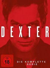 34 DVDs * DEXTER - DIE KOMPLETTE SERIE IN EINER BOX - FSK 18 # NEU OVP +