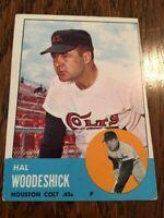 1963 Topps #517 Hal Woodeshick VG