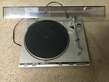 New listing Vintage Technics Sl-B300 Automatic Turntable Record Player with Dust Cover Parts
