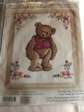 Cross Stitch Kits Hallmark 2 Teddy Bear Kits