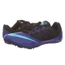 Girls Nike Zoom Rival Black/Purple Soccer/ Baseball/ Running Shoes Size 6