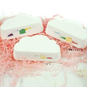 Natural Cloud Rainbow Bath Salt Ball Essential Effervescent Bubble Bath Bomb UKD