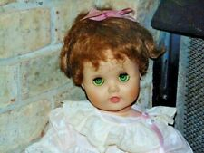 American Doll 1960 25� Baby Toodles - Red Hair Green Flirty Eyes