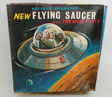 SPACE : ELECTRONIC FLYING SAUCER MADE BY JR 21 TOYS