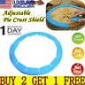 Adjustable Silicone Rimmed Dish Pie Crust Shield Ring Cake Pizza Baking Tool US