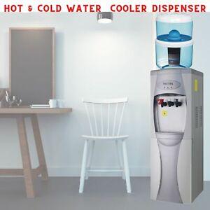 Neutek Water Cooler Dispenser 12L Bottle Filter Purifier Hot Cold Stand Office