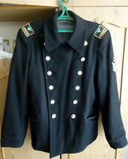 Russian navy Naval Army Uniform Overcoat sailor Pea Jacket Coat bushlat wool