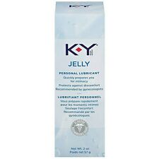 6 TUBEs KY JELLY 2oz PERSONAL LUBRICANT