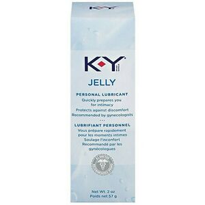 4 TUBEs KY JELLY 2oz PERSONAL LUBRICANT exp 7/21