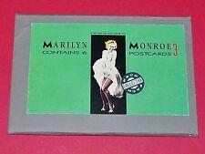 CPA CINEMA CARTES POSTALES MARILYN MONROE PACK 6 POSTCARDS 1987 SHOOT THAT TIGER