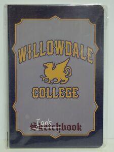 Loot Crate PIXAR Exclusive ONWARD Willowdale College Sketchbook with Bookmark