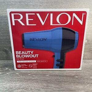 New Revlon Beauty Blowout Hair Dryer Fast Drying Power 1875 Watts 3 Speed 2 Heat