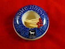 Vintage White Horse Whisky Pub Matchstriker