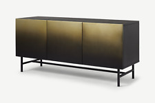 MADE.com Sulta's Stylish Brass Black Ombre Iron Wide Sideboard - RRP £749