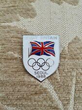 Great Britain Olympic Pin Badge Seoul 1988