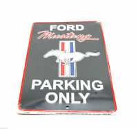 Ford Mustang 8 x 12 Automotive Car Garage Man Cave Parking Sign Free Ship