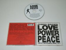JAMES BROWN/ Love Power Peace / Live At The Olympia,PARIS 1971 (513389-2) Cd