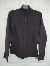 New With Tag Lululemon Define Jacket Black Currant Size 6