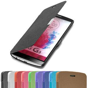 LG G3  Hülle Slim Case Tasche Schutz Hülle Flip Etui Wallet Cover