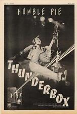 Humble Pie Thunderbox UK LP advert 1974