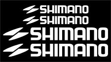 Shimano Bicycle Decal/Stickers Set MTB/ROAD (Gloss White)
