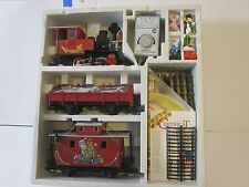 LGB 72555 CHRISTMAS SANTA CABOOSE TRAIN SET