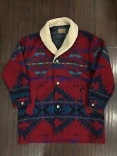 RARE🔥 Pendleton High Grade Western Wear Button Coat Jacket Sz 44 Native Blanket