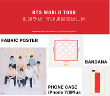 [BTS] BTS LOVE YOURSELF Tour Official MD Fabric Poster Bandana iPhone7+/8+ Cover