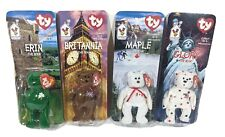 TY Beanies 1999 McDonalds International Collection Set Of 4 With 1993 Tag Erin