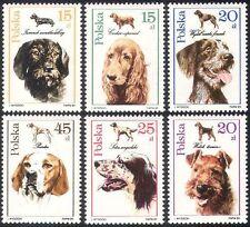 Polish Dogs Pet & Farm Animal Postal Stamps
