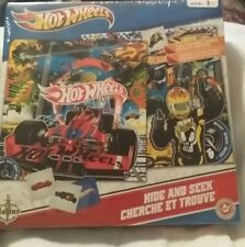 Hot Wheels Hide And Seek NEW sealed Game AGE 4+ Cars Gladius mfg Canada HTF