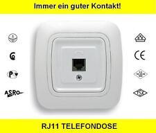 Telefondose RJ11 Telefon Dose für Rahmen GOKU ws