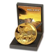 2017 Cameroon 5 oz Gold Proof Leopard (The Big Five)
