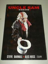 Uncle Sam Deluxe Edition Alex Ross Steve Darnall (Hardback, 2009)< 9781401223489