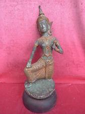 bella, vecchio,grande Bronzo statua__asiatico monaco__44cm__superiore a 5kg__