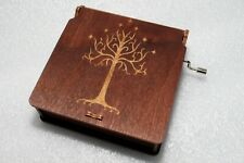 The Lord Of The Rings Music Box - White Tree Of Gondor - Aragorn Frodo Gandalf