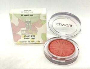 Clinique Cheek Pop Blush Pop ~ 02 Peach Pop ~  .12 oz / 3.5 g / BNIB