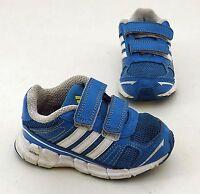 Adidas Ortholite Sneaker Halbschuhe Klettverschluss Indoor blau Gr. 6 = 23