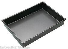 """Master Class Catering Quality Large Rectangular Non Stick 13"""" Deep Cake Pan Tin"""