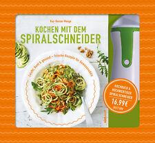 SET Kochen mit dem Spiralschneider von Kay-Henner Menge (16.10.2017) inkl. Gerät