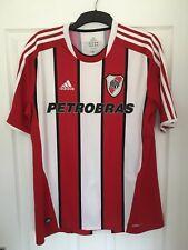 2011/2013 River Plate away football shirt Adidas Petrobras rare large men's