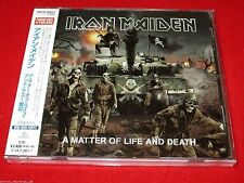 IRON MAIDEN - A Matter Of Life And Death - JAPAN CD - WPCR-80031