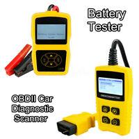 Auto Car Vehicle Battery System Tester Diagnostic Scanner Engine Fault Code