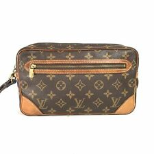 Louis Vuitton monogram Maruridoragon'nu GM M51825 handbag clutch bag pou (343-5