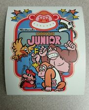 Donkey Kong Jr. cabinet art sticker. 4.5 x 5.5.Buy any 3 stickers, GET ONE FREE!