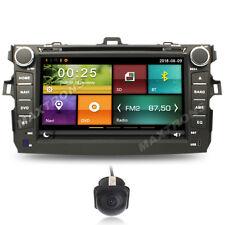 Car DVD GPS Navi Headunit Autoradio For TOYOTA COROLLA 2007 - 2010 Free Camera