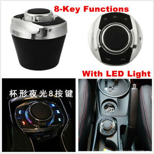 New LED Wireless Car Steering Wheel Control Button For Stereo GPS Universal