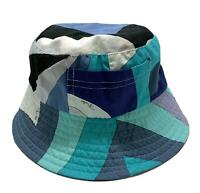 EMILIO PUCCI BLUE PRINT BUCKET HAT, $595